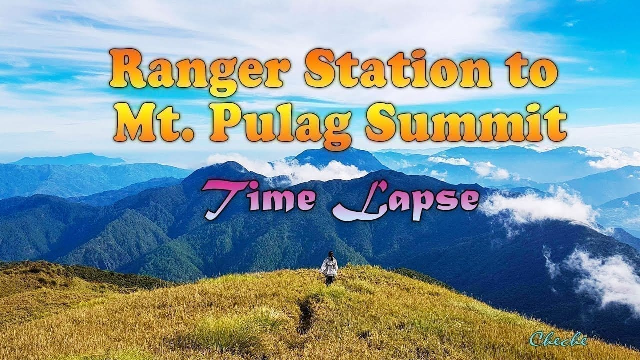 Mt. Pulag Sea of Clouds Time Lapse Hike to Summit